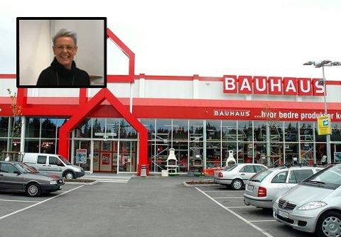 SELGER IKKE FYRVERKERI: For andre året på rad velger Bauhaus å ikke selge fyrverkeri til nyttårsaften.