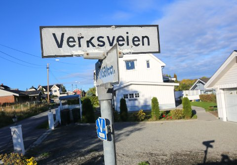 OMDØPES: Fra og med 1. januar neste år får 35 veier i Nedre Eiker nytt navn. Da vil blant annet Verksveien i Mjøndalen hete Kroksløkka.