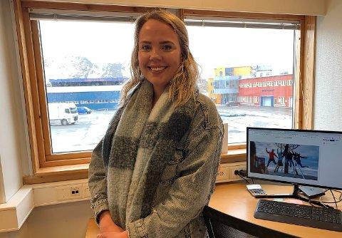 SER FREMOVER: Prosjektleder Marte Gabrielsen i Visit Nordkapp jobber for å gi Nordkapp som reisemål et konkurransefortrinn.