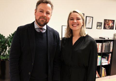 Embla Belsvik har fått eit vikariat som politisk rådgjevar for næringsminister Torbjørn Røe Isaksen.