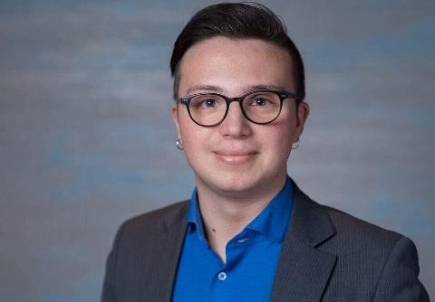NYTT VERV I HELGA: Søndag blei Vebjørn Leite Olsen valt til sentralstyremedlem i Mental Helse Ungdom.
