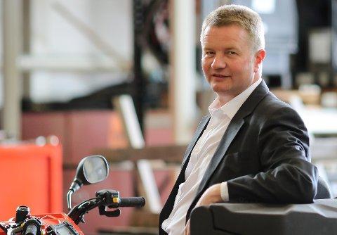 Arve Dimmen, direktør for navigasjonsteknologi og maritime tjenester i Kystverket.