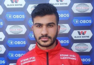 SCORET TRE: Spissen Said Barakat scoret tre mål for FFK-rekruttene mot Borgar.