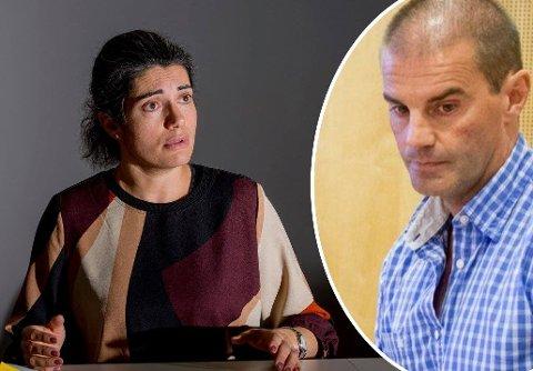 ISFRONT: Det er full konflikt i husleieforholdet mellom Racha Maktabi og Morgan Andersen. Nå er søksmålet oppe i over én million kroner.