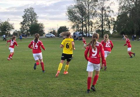 Ute av turneringa: Mjølners J14 gikk på et tap mot Lillestrøm i åttendedelsfinalen, og røk med det ut av årets Norway cup.