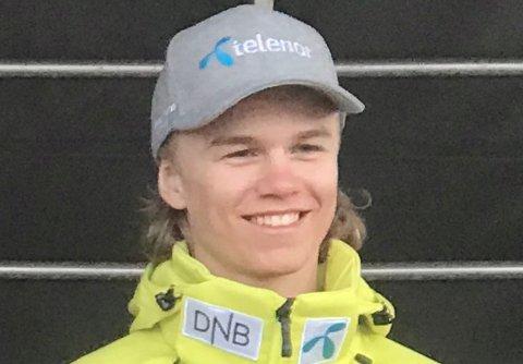 BRONSE: Oliver Stokkedal kjørte inn til bronse.