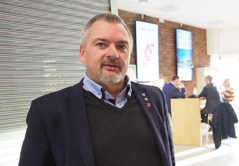 Gjør tiltak: Lars Skjønnås, rådmann i Narvik kommune, opplyser om tiltak  mot spredning av koronavirus, i forbindelse med junior-VM og VU.