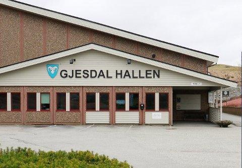 Gjesdalhallen 1 ble gjenåpnet onsdag 13. mai klokken 17.00.
