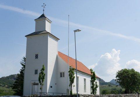 I september blir det konfirmasjoner i Gjesdal kyrkje og de andre kirkene i Gjesdal.