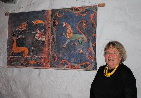 Tekstilkunstner Olaug Salthe.