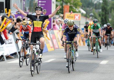 BLE UTELATT: Ladies Tour of Norway er Norges eneste World Tour-ritt, men ble utelatt fra sin rettmessige del av medievtalen - og har gått glipp av millionbeløp.