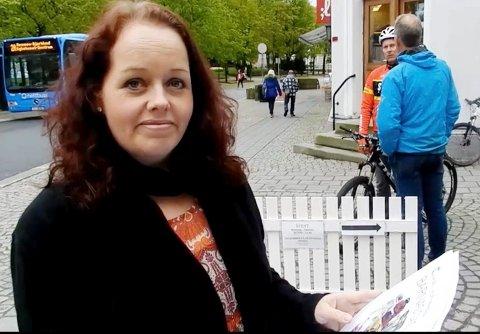 NÅ ER DET SLUTT: Trine Høistad er gründeren bak kulturnettstedet kandusi.no. Etter to år i manesjen, tvinger senebetennelser i armene henne til å gi seg. – Det er ikke forsvarlig å fortsette lenger, skriver hun.