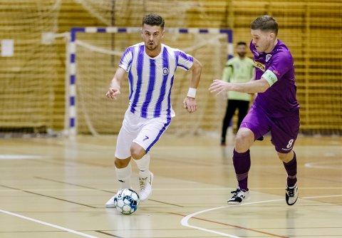 FOR NORGE: Rinor Topallaj fra Fredrikshald Prishtina er tatt ut på landslaget i futsal.