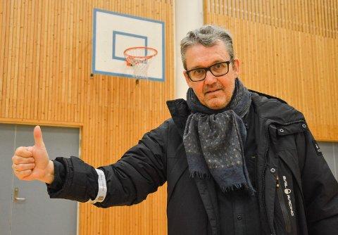 FORNØYD: – Vi er nå en klubb i god vekst, sier HBBK-leder Sven Stranger.