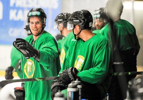 BLIR BACK: Dan Nygård har vært center og forward i et helt hockeyliv. Nå omskoleres han til back før årets Comet-sesong.