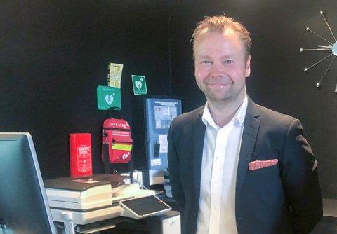 SLUTTER: Mads Hammer slutter som direktør på Scandic-hotellet i Hammerfest for å bli ny direktør på Scandic Valdres.