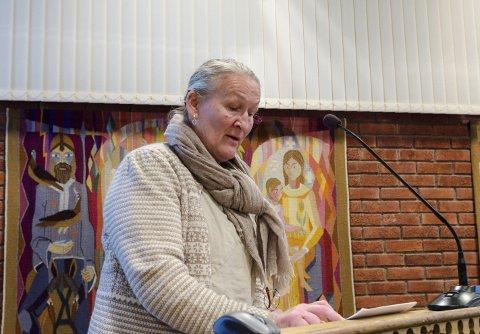 Førstekandidat: Inger Marie Himle fra Utne er Ullensvang SV sin førstekandidat til høstens kommunevalg. Hele åtte av de ti øverste kandidatene på SV-lista er kvinner.Arkivfoto