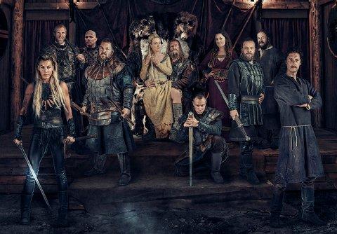 NY SESONG: Sesong 2 av Vikingane blir presentert i dag.