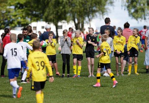 HEIA SKJOLD: Skjold IL stiller med fire lag i Norway Cup, hvorav det ene er et samarbeidslag med naboklubben Stegaberg IL.