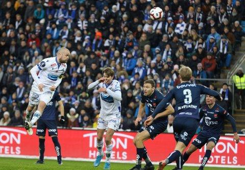 2019: FKH var i cupfinalen mot i 2019 mot Viking.