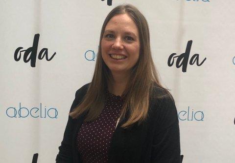 OVERRASKET: Audhild Randa ble overrasket når hun fikk vite at hun er en av Norges fremste tech-kvinner, men syntes det var stas å få en plass på den ærefulle listen.