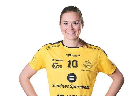 FORTSETTER I SOLA: Vilde Ueland er klar for en full sesong i eliteserien.