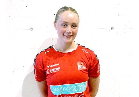 TALENT: Viktoria Giske skal på landslagssamling i Skien senere i juni.