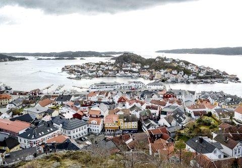 BYJUBILEUM: I år er det 350 år siden Kragerø fikk bystatus. Dette skal feires på ulike måter gjennom hele året. FOTO: NILS JUL LANDE