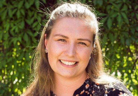 Henriette Seim får litt å henga fingrane i med den nye jobben som samarbeidsansvarleg i Velferdstinget i Oslo.