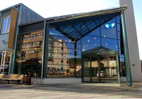 Bibliotekbygget på Nymoen er i ferd med å bytte eier.