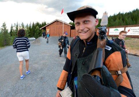 I FORM: Kim-André Aannestad Lund kom rett fra militært nordisk mesterskap i Finland og til Lågen cup, som han vant sammenlagt. (ALLE FOTO: OLE JOHN HOSTVEDT)
