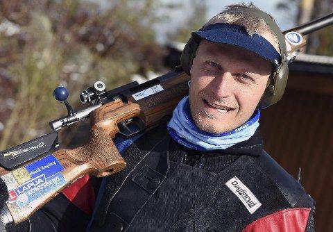 I DRAGET: Kim-André Aannestad Lund er i storform. Jondølen vant to av tre innendørsstevner i helgen.FOTO: OLE JOHN HOSTVEDT