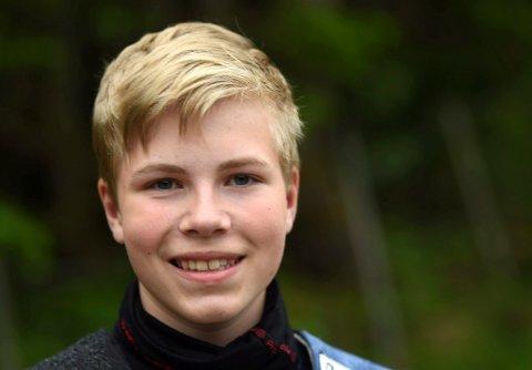 PÅ HJEMMEBANE: Eirik Navelsaker, Flesberg, er en av mange gode numedøler som skal i aksjon.