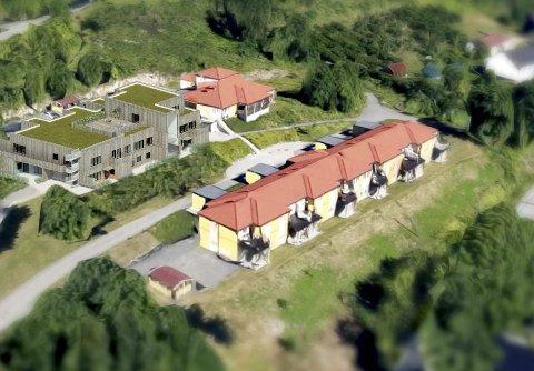 STORSATSING: På Gifstad – ved siden av dagsenteret – skal det bygges et nytt bofellesskap for åtte personer med behov for omfattende tjenester.