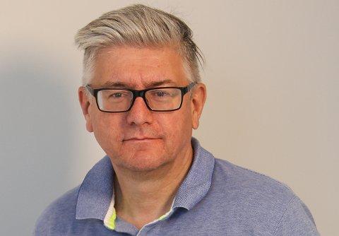 Pål Enghaug, ansvarlig redaktør og daglig leder i Moss Avis.