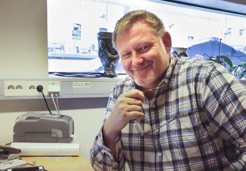 DAGENS NAVN: Arve tTomt Gundersen (49), lokalhistoriker.