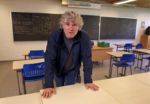 Den nye Tjukkasgeneralen, Morten Nore har blant annet vært FAU-leder på Hoppern.