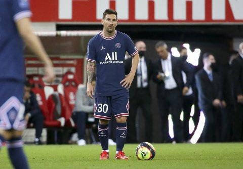 SUPERSTJERNE: Nå kan du se Lionel Messi og de andre stjernene i den franske toppdivisjonen hos NA.