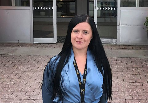 OPPGRADERER: - Vi ser at kundene trenger det, sier Elisabeth Karlsen, senterleder på Pyramiden i Tromsdalen.