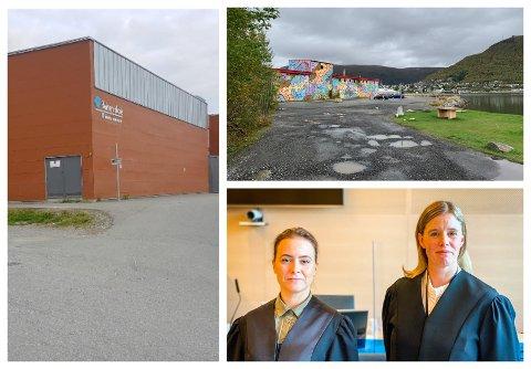 VOLDSSAKER: Reinen skole og sørjeteen. Nederst til høyre: Politiadvokatene Christin Vibeke Pedersen og Kjersti Mari Nilsen representerer påtalemyndigheten i en saken.