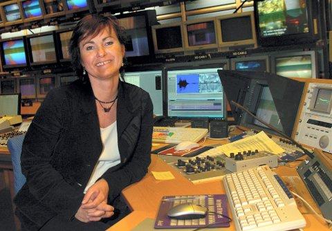 FULL STANS: Distriktsredaktør Inger Johanne Solli i NRK Hedmark og Oppland bekrefter at det blir full stans i oppdatering av radio, tv og nett når journalistene nå går ut i streik.