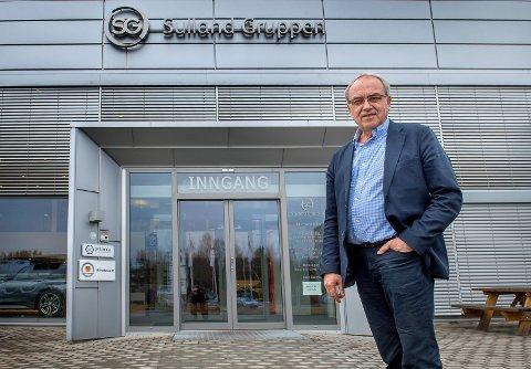 STORE: Arvid Sulland og Sulland-gruppen hadde en  samlet omsetning på 4,750 milliarder kroner i 2018.