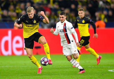 Champions League-fotballen forsvinner fra Viasat-kanalene fra høsten 2021. Foto: Martin Meissner / AP / NTB scanpix