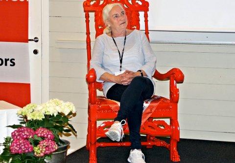 Torild Wivestad Johansen satte stor pris på hederen.
