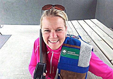 FORNØYD: - Sølvmedalje i NM er jeg fornøyd over, sier Rakkestad-kvinnen Torun Bredholt. ARKIVFOTO