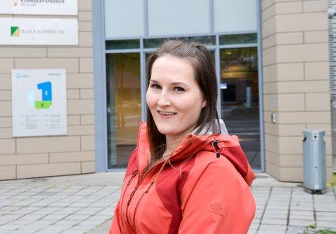 Stinne Lillealter ved Campus Helgeland, der hun har tatt sykepleierutdanningen.
