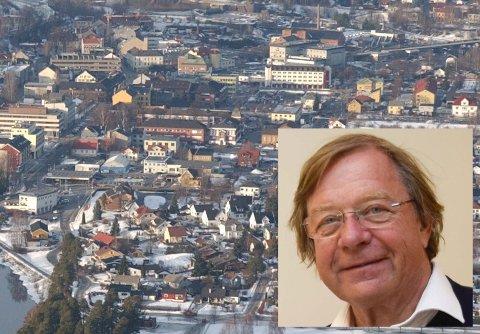 ØKONOMI: - Vekst er ikke bare befolkningsøkning, men også økonomisk vekst som grunnlag for skatteinntekter for å finansiere velferd, sier Ole-Gunnar Øhren.