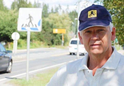 UFINT: Leder i NAF Ringerike, Viggo Elstad, satte svært liten pris på å få ufine meldinger fra gokartmiljøet.