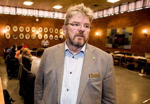 GJØR INNTRYKK: Nannestad-ordfører Hans Thue.