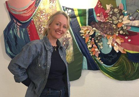 MILJØARBEID: Kristin Sukke Gautestad gleder seg til å drive med miljøarbeid for eldre i Sandefjord, og er opptatt av at det gjelder å finne de ressursene og gledene brukerne har boende i seg, uansett alder og funksjonsnivå.